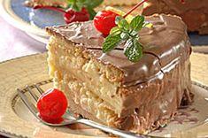 Sernik na gorąco Polish Recipes, Cheesecakes, Tiramisu, Pudding, Pie, Ethnic Recipes, Sweet, Baking, Torte
