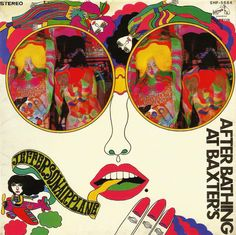 Jefferson Airplane - After Bathing At Baxter's (1967) Record Sleeve Art By Keiichi Tanaami  #Albumart