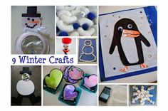 More winter ideas from No Time for Flashcards..