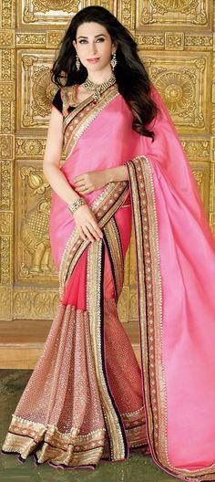 174436: Pink and Majenta color family Bollywood sarees .