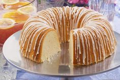 This incredible pound cake is one in a million. That's why we call it our Million Dollar Pound Cake! Made from a few basic ingredients you probably always have on hand, this pound cake recipe surely takes the cake!