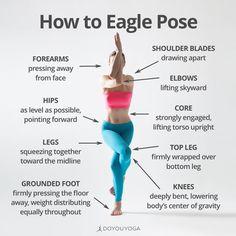 The Holistic Benefits of Eagle Pose – Yoga Club Yoga Flow, Yoga Bewegungen, Yoga Moves, Yoga Meditation, Bikram Yoga Poses, Yoga Exercises, Vinyasa Yoga, Pilates Yoga, Pilates Reformer