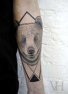 Les tatouages de Valentin Hirsch