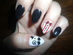 My nails long ago...