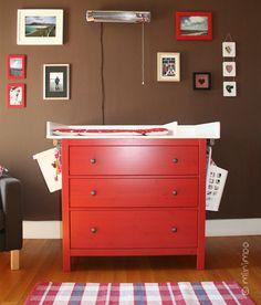 Selbsgebauter Wickeltischaufsatz Für Die Ikea HEMNES Kommode By Miss  Minimoo, Via Flickr