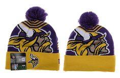 Beanies   Winter Hats · Aimee Smith · Giants Beanies · Mens   Womens  Minnesota Vikings New Era NFL Fashion Sports Logo Whiz Cuffed Knit Pom  Beanie b3d8ec701194