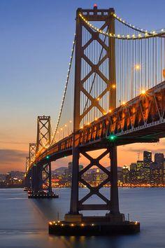 El puente de puentes: El Golden Bridge, San Francisco, California.