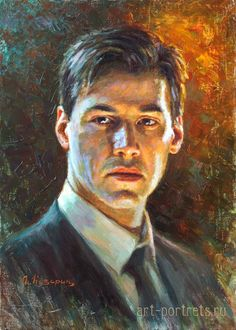 Paintings of famous people in oil on canvas by Igor Kazarin Abstract Portrait, Watercolor Portraits, Portrait Art, Drawing People, People Drawings, Easy Drawings, Pencil Drawings, Dancing Sketch, Drawings With Meaning