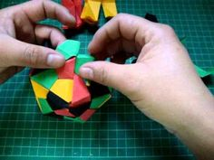 YouTube - origami icosaedro.wmv