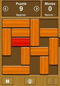 Similar to Rush Hour, but free! Simple and addictive puzzle game.