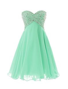 186ac8369d9 Dressystar Sweety Girls Cocktail Homecoming Gowns Prom Pageant Dress  Lace-up Size 2 Mint Dressystar