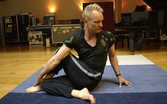 Sting hasn't missed a day of yoga in over 20 years