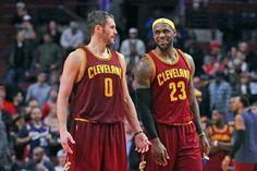 LeBron James & Kevin Love ...