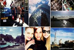 Fashion model Bailee Roberts about her 'shooting safari' around sunny London and 'her favorite things' salad...