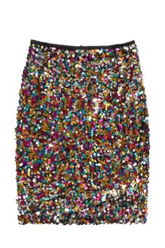 Multi-color Sequined Skirt  would be perfect for columbia (rocky horror picture show costume)