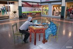 street painting gallery - Street Painting and Anamorphic Art by Chalk Artist Cuboliquido 3d Street Painting, 3d Street Art, Chalk Festival, Art Festival, Chalk Artist, Anamorphic, Painting Gallery, Italian Artist, Optical Illusions