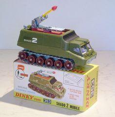 Dinky Toys 353 Shado 2 Mobile - please visit my website www. 1970s Childhood, My Childhood Memories, Childhood Toys, Gi Joe, Por Tras Das Cameras, 60s Toys, Corgi Toys, Space Toys, Matchbox Cars