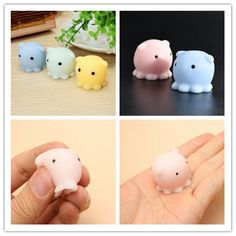 Enthusiastic 1pcs Cute Kawaii Decompress Anti-stress Squishy Panda Mochi Squeeze Stretchy Charms Phone Straps Mobile Phone Accessories