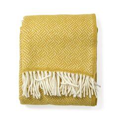 Klippan Samba Throw Yellow