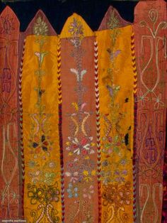 Embroidered Palestinian Dress, 1930s