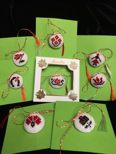 8 Martie, Folk Embroidery, Hobbies, Cross Stitch, Jewellery, Christmas Ornaments, Sewing, Holiday Decor, Garden