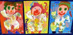Maestra Caterina: Pagliacci di Carnevale con vestito a sfumature colorate