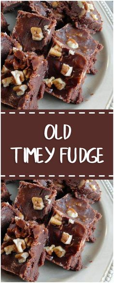 Old Timey Fudge #oldtimey #fudge #whole30 #foodlover #homecooking #cooking #cookingtips