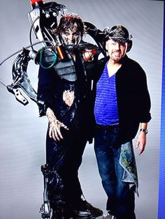 Roy with His Zombie Cyborg