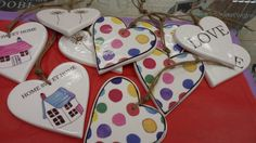 spots and hearts
