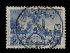 AUSTRALIA - 1936 - CDS OF REGENT S PARK (NSW) ON 3d BLUE SG162