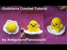 Amigurumipianosound Crochet Blog: Gudetama Lazy Egg Free Crochet Pattern