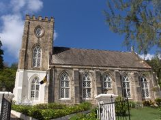 Barbados. St Andrew's parish church. Parish churches are a tangible reminder of the island's religious Anglican history under the Church of England. This system of parish churches was the visible expression forming the basis of the parliamentary representation in Barbados. The differing size and shape of each parish were primarily influenced by the mega plantation estates of cotton, sugar cane and tobacco that existed during the colonial years of Barbados.