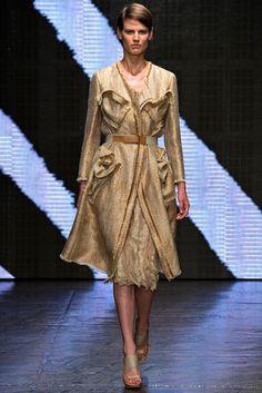 Donna Karan Spring 2015 Ready-to-Wear Fashion Show - Saskia de Brauw