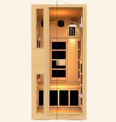 Ensi™ 1 Person Zero-EMF Far Infrared Sauna, Black Friday Deal is ON! $950 OFF. Lowest Price Guaranteed!