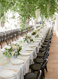 Stunning Wedding in Santa Barbara Floral by Kate Holt of Flowerwild Planning By Firefly Events Photos By Jose Villa HMU by Team Hair and Makeup Tabletop - The ARK Lighting- Bella Vista Venue - The Biltmore
