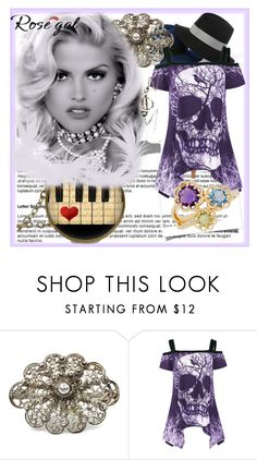 """""""Rosegal"""" by sabahetasaric ❤ liked on Polyvore featuring Lord & Taylor"""