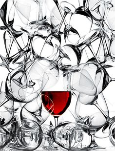 "wine wine wine...  Red wine glass photography ""Corney and Barrow"" by Richard Haughton ⓒ  #BandW #cRed"