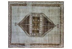 """Oushak Carpet, 102"""""""