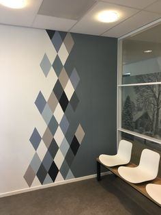 mural Sacred Geometry: Polygons + Polygrams (Credit: Hermetic Order of the Golden Dawn) Creative Wall Painting, Wall Painting Decor, Creative Walls, Home Room Design, Home Interior Design, Interior Decorating, Bedroom Wall Designs, Wall Decor Design, Wall Paint Patterns