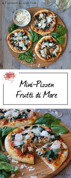Mini-Pizzen Frutti di Mare | Rezept | Essen | Pizza