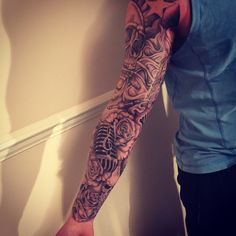 Music themed sleeve
