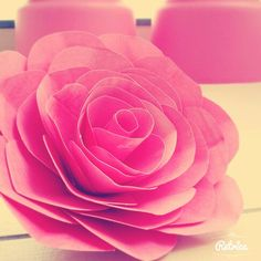 Easy to make, paper flower made by me. Size- large