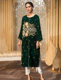 Khas Luxury Pret Formal Silk & Velvet Kurtis Collection 2020 contains embroidered winter formal shirts with organza duappatas and awesome stitching styles