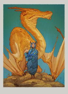 Dragon Priestess , Tim Mcburnie on ArtStation at https://www.artstation.com/artwork/Xzb2Y