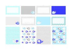 FREE Elephant planner sticker – free printable download | Sleek Planner Designs