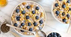No time for a hot bowl of oats? Chill—they're just as good cold.