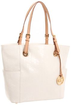 592ef2c510b1 Amazon.com: MICHAEL Michael Kors Jet Set Tote,Pale Gold,One Size: Clothing