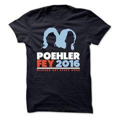 Poehler Fey 2016 - #hoodie sweatshirts #red sweater. SECURE CHECKOUT => https://www.sunfrog.com/Political/Poehler-Fey-2016.html?68278