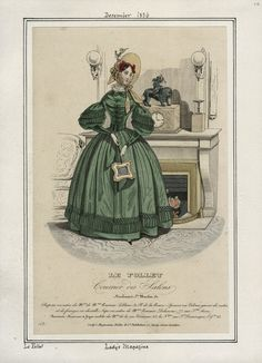 December 1836 Le Follet Ladies Magazine