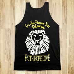 Theta Lion King Tank